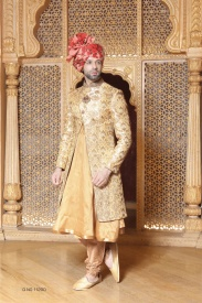 Beige Color sherwani