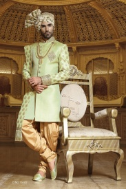 Light Green Sherwani